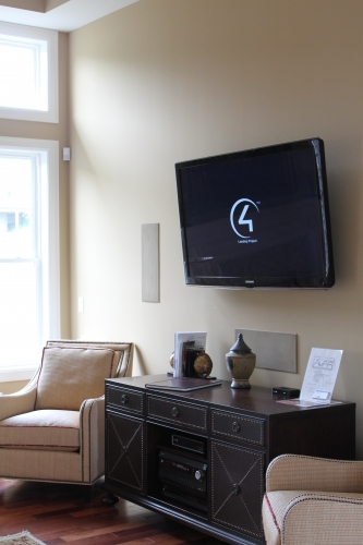 5.1 Surround Sound System with In Wall Speakers